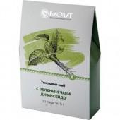 Экстракт растительный Токсидонт-май с зеленым чаей джинсейдо, саше 10 шт. по 5 г
