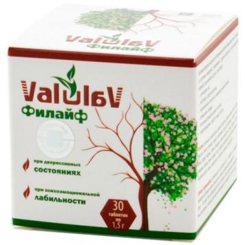 ValulaV Филайф при депрессивных состояниях, таблетки 30 шт.