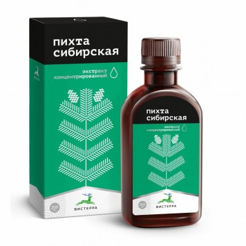 Пихта Сибирская, экстракт водный 200 мл.